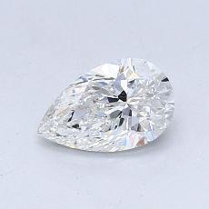 Recommended Stone #4: 0.58-Carat Pear Cut Diamond
