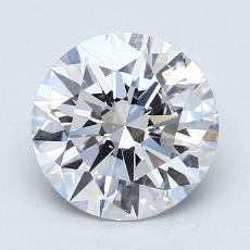 1.50-Carat Round Diamond Ideal D VS2