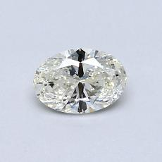Recommended Stone #3: 0.41-Carat Oval Cut Diamond