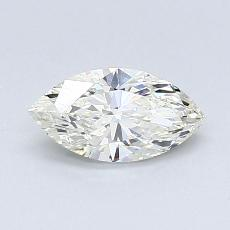 推薦鑽石 #1: 0.57  克拉欖尖形切割鑽石