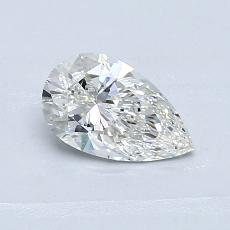 Recommended Stone #4: 0.63-Carat Pear Cut Diamond