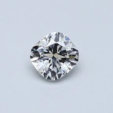 オススメの石No.4:0.42カラットのクッションカットダイヤモンド