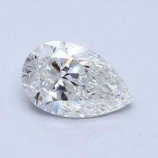 Recommended Stone #4: 0.70-Carat Pear Cut Diamond