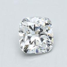 1.04-Carat Cushion Diamond ASTOR E VS2