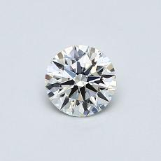 Recommended Stone #2: 0.41-Carat Round Cut Diamond