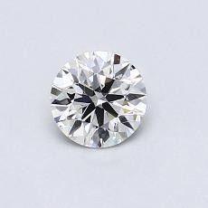 0.48-Carat Round Diamond Ideal I SI1