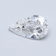 Recommended Stone #4: 1.22-Carat Pear Cut Diamond