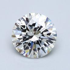 1,30-Carat Round Diamond Ideal G VS1