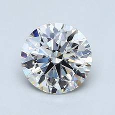 1.21-Carat Round Diamond Ideal F SI1