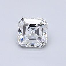 Piedra recomendada 1: Diamante de talla Asscher de 0.72 quilates