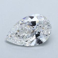 0.94 Carat 梨形 Diamond 非常好 E VS2