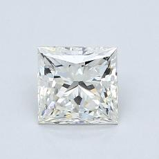 Recommended Stone #2: 1.01-Carat Princess Cut Diamond