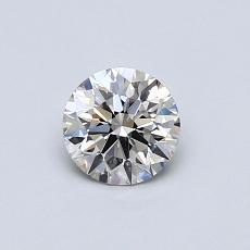 0.52 Carat 圆形 Diamond 理想 I VS2