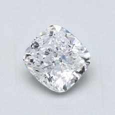 Pierre recommandée n°1: Diamant taille coussin 0,96 carats