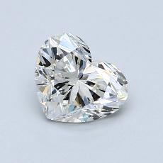 Recommended Stone #4: 0.92-Carat Heart Cut Diamond