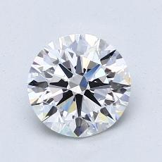 1.30-Carat Round Diamond Ideal F VS1