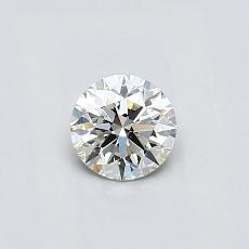 Recommended Stone #3: 0.37-Carat Round Cut Diamond
