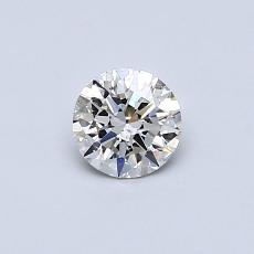 Recommended Stone #3: 0.38-Carat Round Cut Diamond