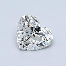 Recommended Stone #4: 0.81-Carat Heart Cut Diamond