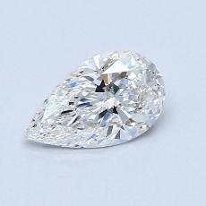 Recommended Stone #3: 0.59-Carat Pear Shaped