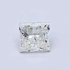 Recommended Stone #3: 0.67-Carat Princess Cut Diamond