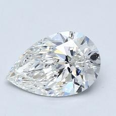 Recommended Stone #3: 1.02-Carat Pear Cut Diamond