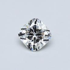 Recommended Stone #3: 0.43-Carat Cushion Cut Diamond