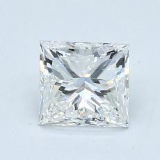 1,02-Carat Princess Diamond Very Good H VS1