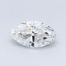 Recommended Stone #4: 0,54-Carat Marquise Cut Diamond
