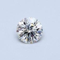 推荐宝石 4:0.34克拉圆形切割钻石