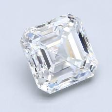Recommended Stone #1: 2.14-Carat Asscher Cut Diamond