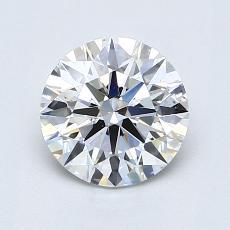 1.21 Carat 圓形 Diamond 理想 E VS2