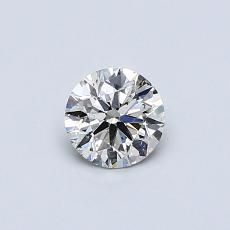 Recommended Stone #4: 0,42-Carat Round Cut Diamond