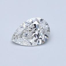 0.50 Carat 梨形 Diamond 非常好 G SI1