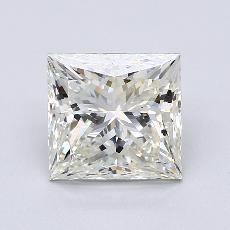 Pierre recommandée n°3: Diamant taille princesse 3,02 carat