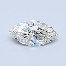 0.56-Carat Marquise Diamond Very Good F VVS1