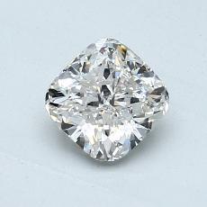1.01-Carat Cushion Diamond Very Good I SI1