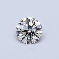 0.40 Carat 圆形 Diamond 理想 K VS1