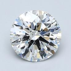 Recommended Stone #1: 1.87-Carat Round Cut Diamond