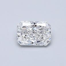 Pierre recommandée n°2: Diamant Taille radiant de 0,45carat