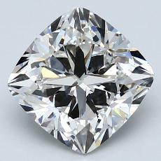 3.14-Carat Cushion Diamond Very Good G VS1