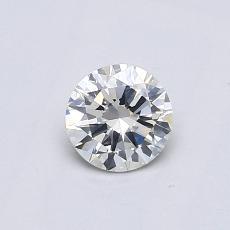 推荐宝石 1:0.46 克拉圆形切割