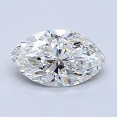 Current Stone: 1.00-Carat Marquise Cut