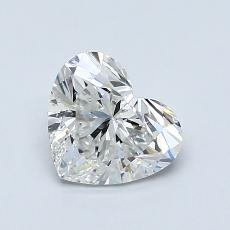 Recommended Stone #4: 1.02-Carat Heart Cut Diamond