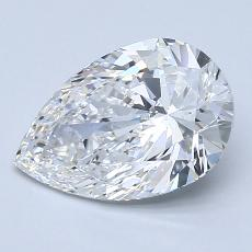 Recommended Stone #2: 1,91-Carat Pear Cut Diamond