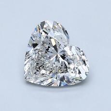 Piedra recomendada 2: Forma de corazón de 1.12 quilates