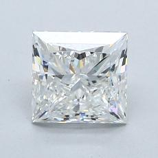 推荐宝石 2:1.51 克拉公主方形钻石