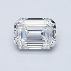 Recommended Stone #2: 0,90-Carat Emerald Cut Diamond