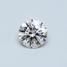 推薦鑽石 #3: 0.38 克拉圓形切割鑽石