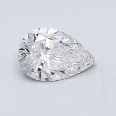 0.70-Carat Pear Diamond Very Good F VVS1